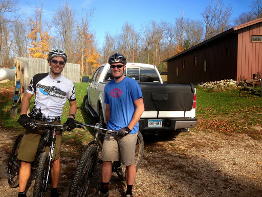 Tom Heilman and Greg Ames out for a ride on Sunday October 13th