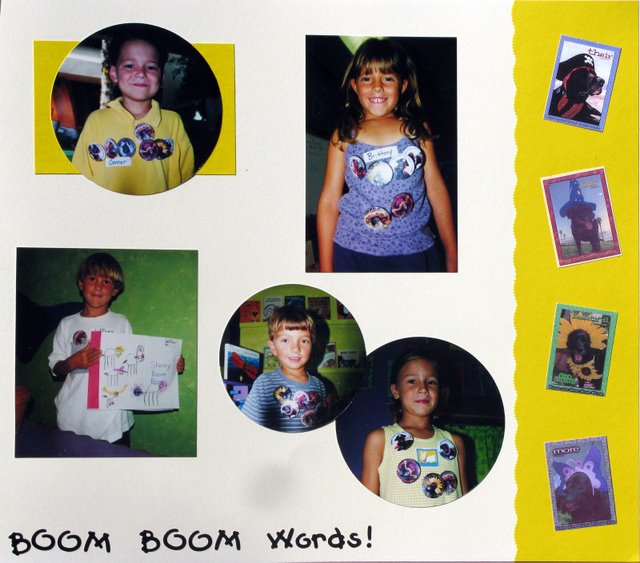 "Know your ""Boom Boom Words!"""