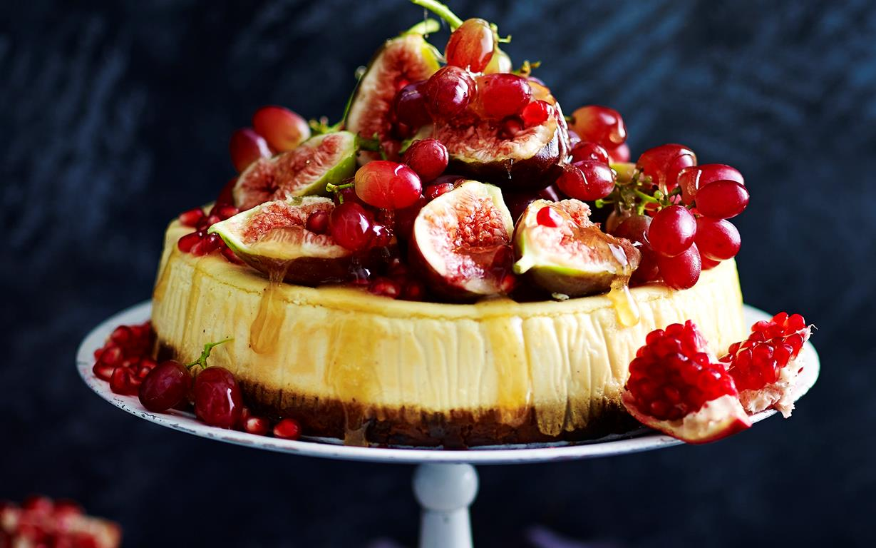DIFFERENT WAYS TO MAKE VERY DELICIOUS FRESH-FRUIT CHEESECAKE 1