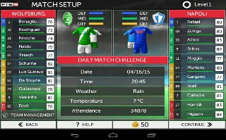 first touch soccer 2015 settings