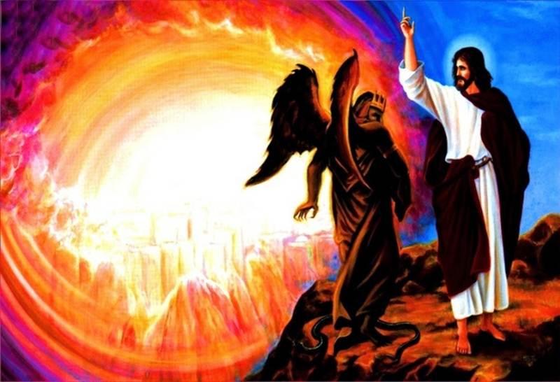 Chúa Giêsu chịu ba cơn cám dỗ của Ma Quỷ