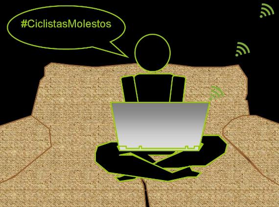 #ciclistasMolestos objetivo 3: Tus amigos de internet que no van en bici
