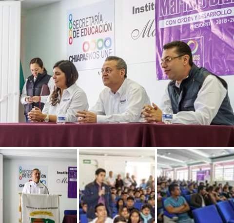 Se reúne Mariano Díaz Ochoa con universidad comunitaria.