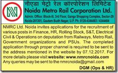 NMRC Advertisement 2018 www.indgovtjobs.in
