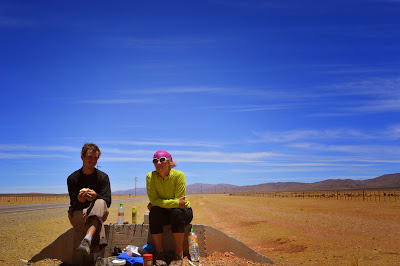 First lunch in Argentina, stll on the altiplano