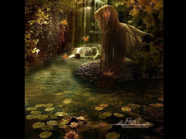 Undine Of Magic River, Undines