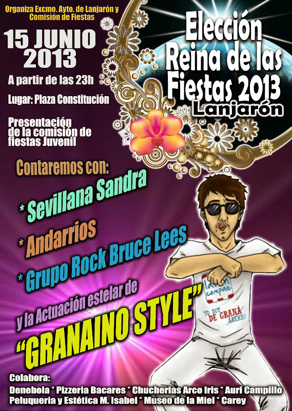 Elección Reina de las Fiestas de San Juan 2013