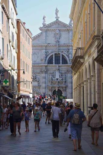 L'église Saint-Moïse de Venise.