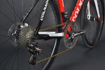 Ferrari Red Colnago C59 Disc Campagnolo Super Record EPS Complete Bike at twohubs.com