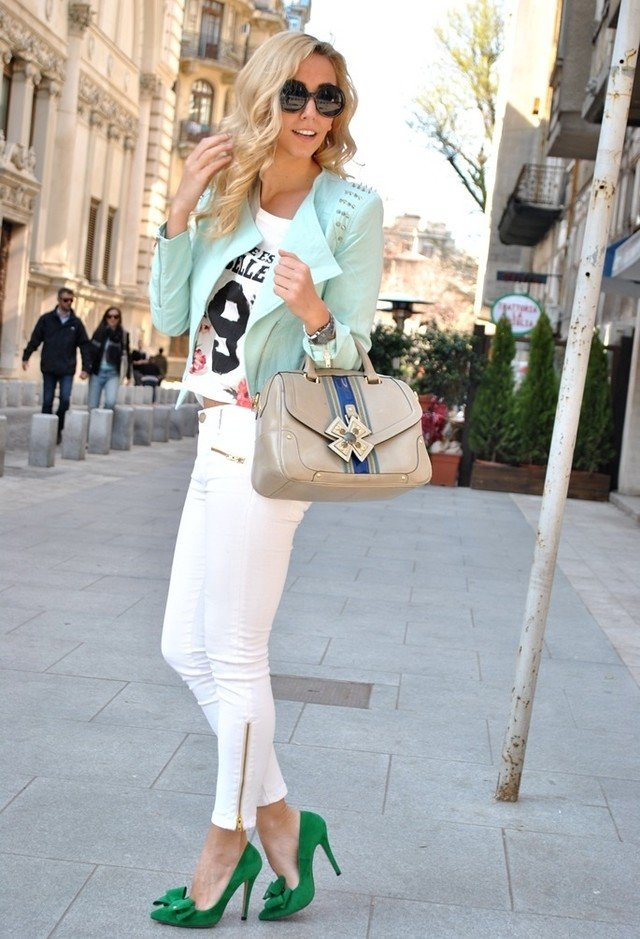 THE AMAZING WHAT TO WEAR WITH JEANS IN SUMMER FOR LADIES 6
