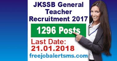 JKSSB General Teacher