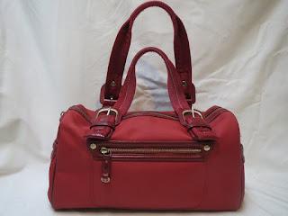 Tumi Red Shoulder Bag