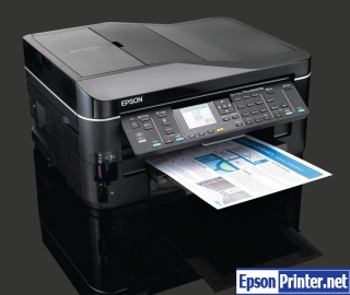How to reset Epson BX625FWD with software