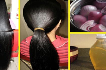 Cara Memanjangkan, Menumbuhkan dan Melebatkan Rambut Dengan Alami dan Cepat
