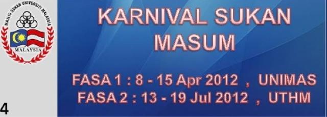 MASUM, UniMAS, Sarawak, Fasa 1