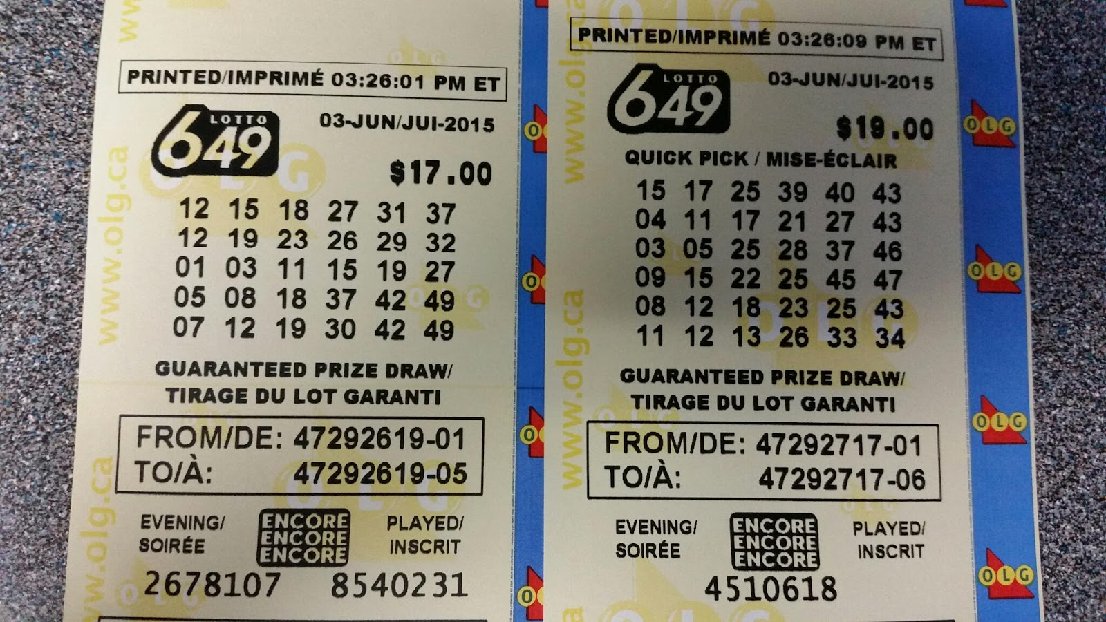 Lotto Jackpot For 18 July