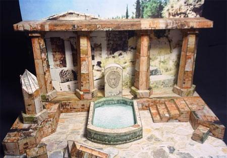 Ancient Greco Roman Ruins Papercraft
