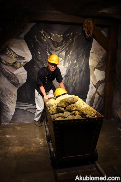 gambar 3d di PG Gold Museum