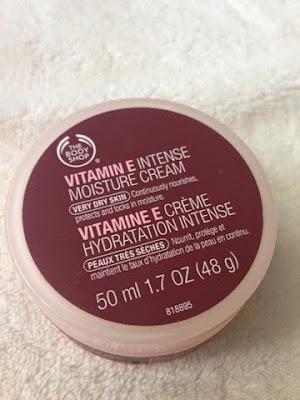 Body Shop's Vitamin E Moisture Cream