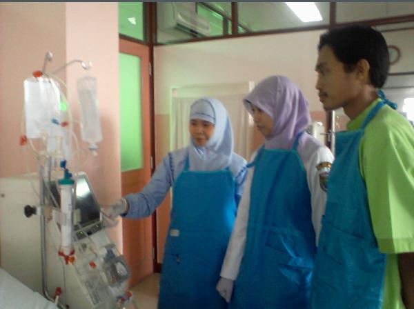 Pelatihan hemodialisa