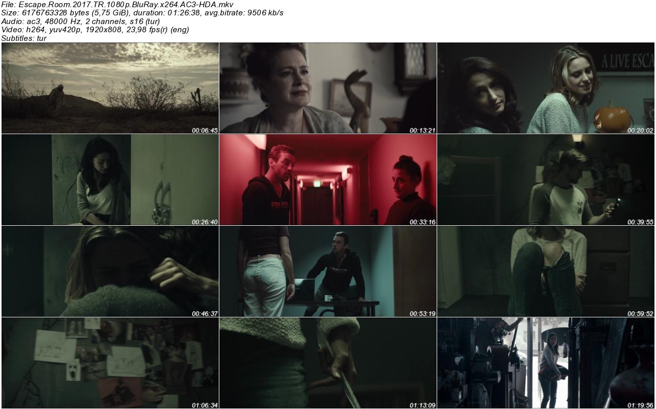 Kaçış Odası 2017 - 1080p 720p 480p - Türkçe Dublaj Tek Link indir