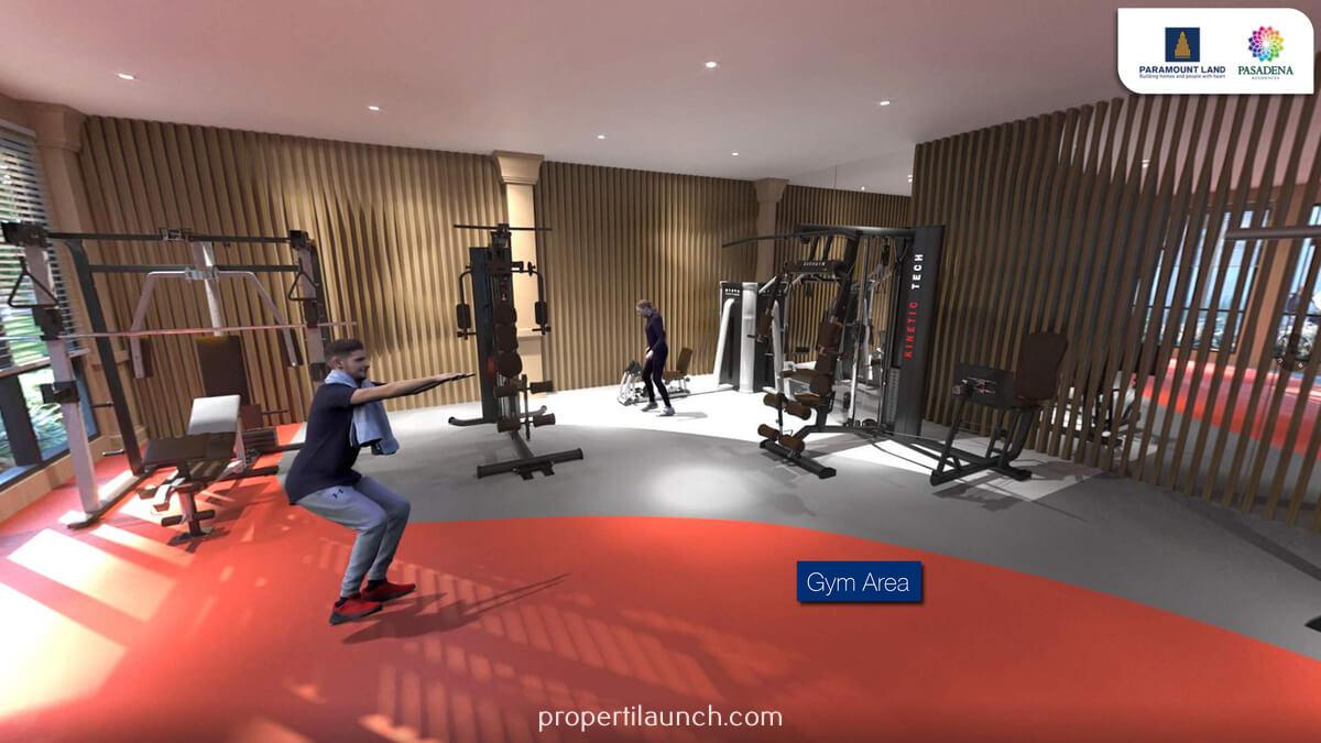 Gym Pasadena Residences