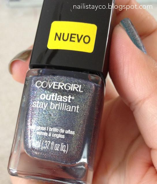 Nailista y co.: Presentando a: COVERGIRL Outlast Stay Brilliant ...