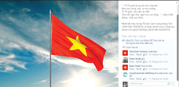 Facebook ruc do co To quoc