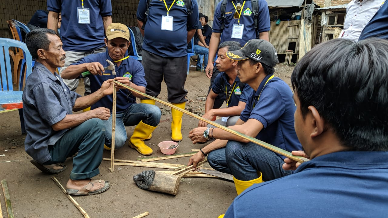 Raih Untung Puluhan Juta Sehingga Petani ini di Kunjungi Peserta Praktek Lapang dari BBPP Batangkaluku