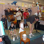 Jazz at blue manatee for Magic Tree House