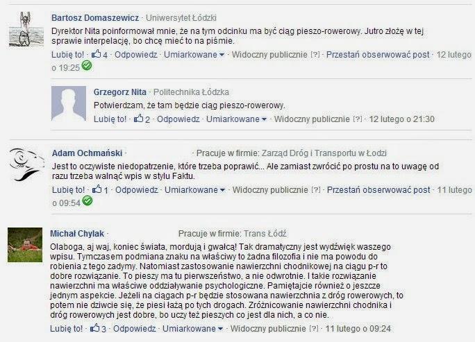 Komentują Bartosz Domaszewicz (radny RM), dyrektor ZDiT Grzegorz Nita, Adam Ochmański i Michał Chylak ze ZDiT.