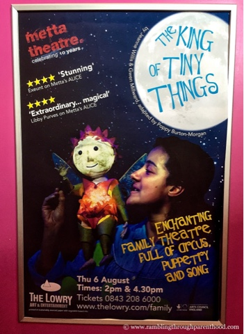 The King Of Tiny Things by Metta Theatre