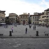 Piazza Santa Croce, ältestes Fußballfeld der Welt, Florenz 2008 (S.247)