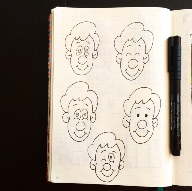 #100DaysOfDoodles | Day 66 | How to Draw Cartoon Faces II | The 100 Day Project