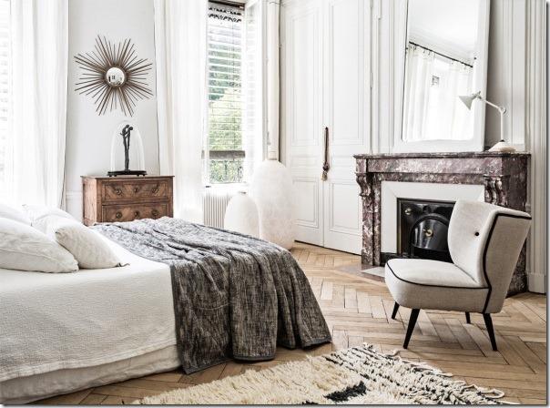 case-e-interni-bianco-nero-chic-francese-appartamento-8