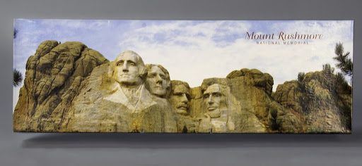 Jigsaw puzzle:Mount Rushmore National Memorial 12 x 36 Inch Panoramic Puzzle