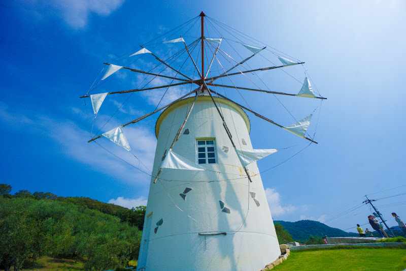 Shodoshima Olive Park, Greek windmill 4