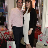 OIC - ENTSIMAGES.COM - George Gilby and Hayley Smith at the Susie in the Sky and their AW15 collection  in London  10th June 2015  Photo Mobis Photos/OIC 0203 174 1069