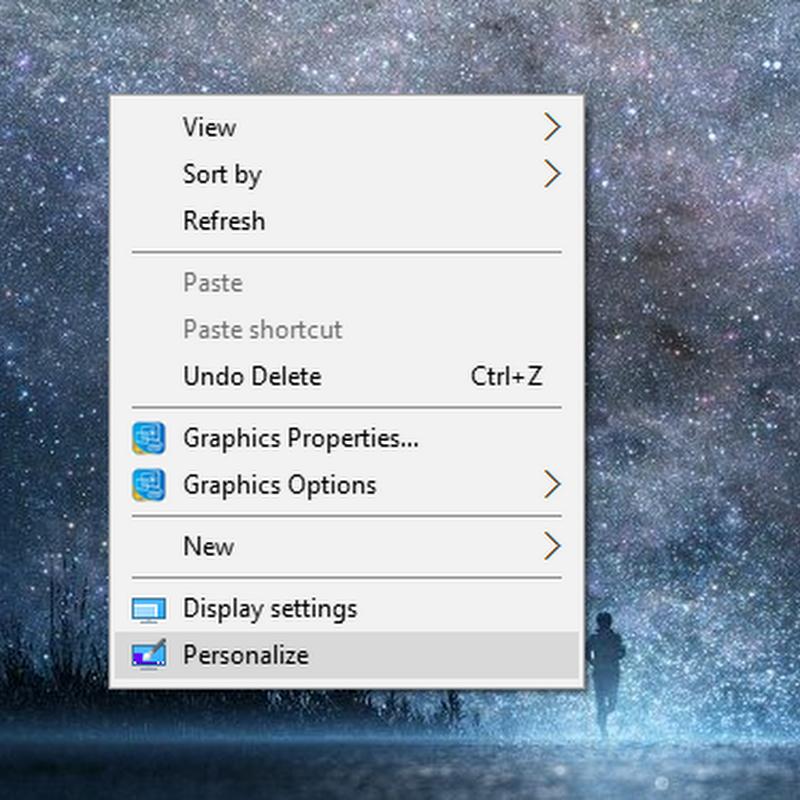 Cara mengganti ikon desktop di Windows 10