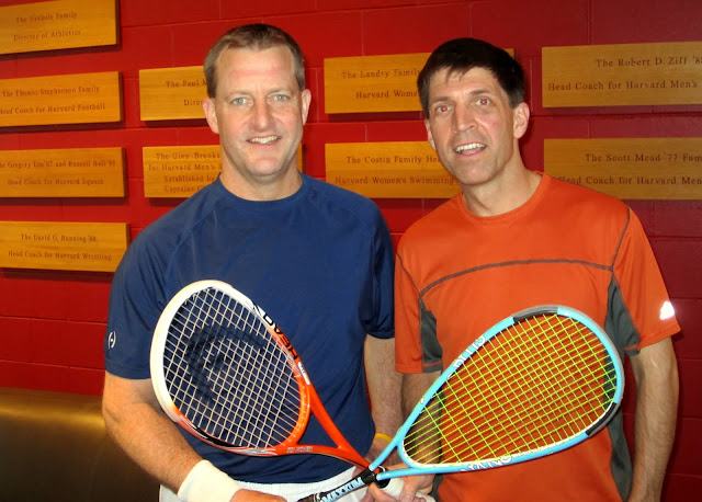 Men's 40+: Finalist - D. Tyler Hindermann; Champion - Ben Willwerth (Harvard Club/Cross Courts)