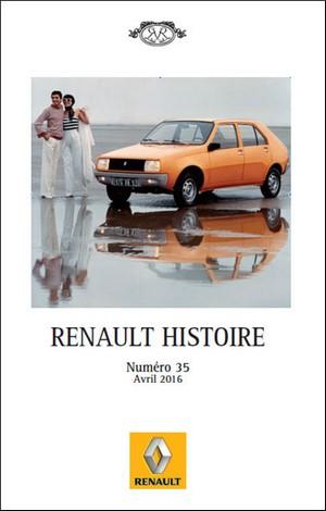 Renault Histoire N° 35 - Avril 2016