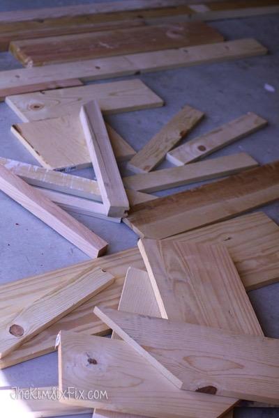 Random scraps of wood