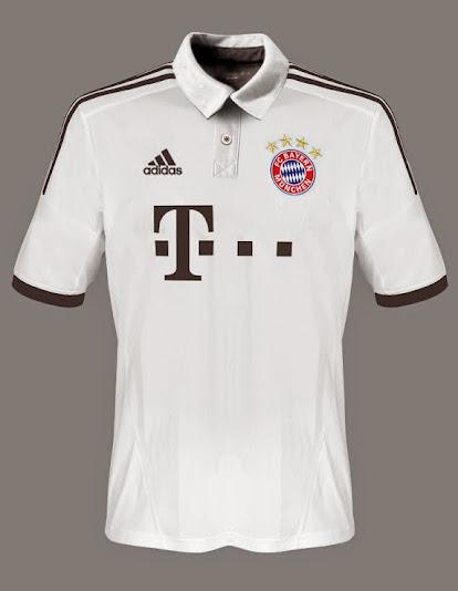 Bayern Munich away shirt 2014