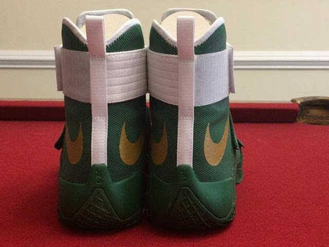 new concept c1e95 fe0da ... First Look at Nike LeBron Soldier 10 Home amp Away PEs ...