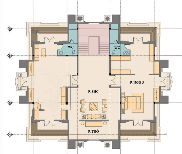 Xem ngay. Mẫu thiết kế biệt thự cổ điển đẹp như tòa Lâu Đài