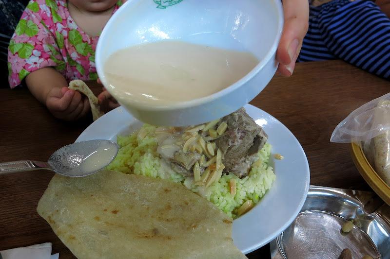 Mansaf sauce