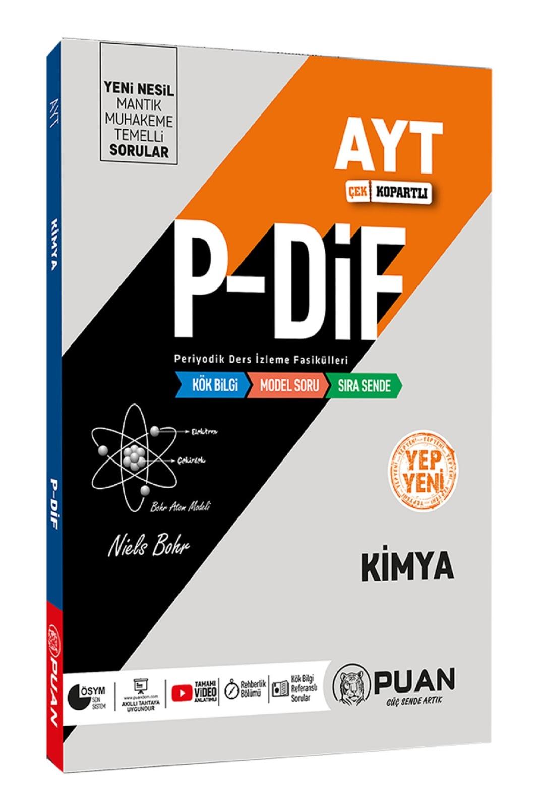 Puan Yayınları - AYT Kimya - P-Dif Fasikülleri