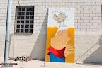 Exhibición de graffiti