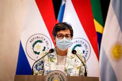 """La Ministra de exteriores responde a Marruecos: """"No tenemos nada que añadir a lo que se haya dicho hasta ahora""""."""