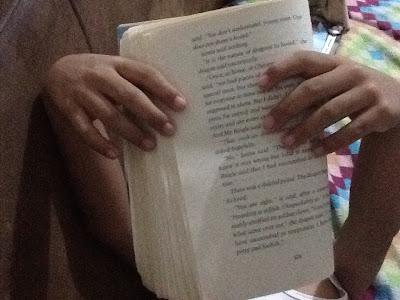 Zach reading TDLI